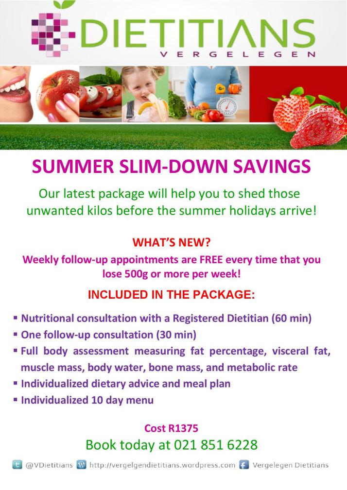 Summer 2015_Weight Loss package